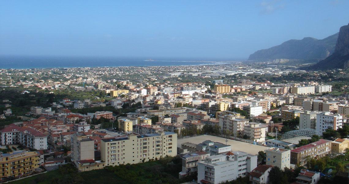 Carini - Vista panoramica