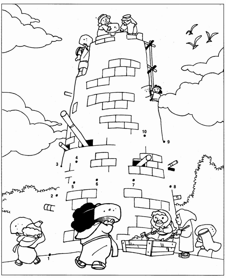 Costruzione della torre di babele for Costruzione di disegni online